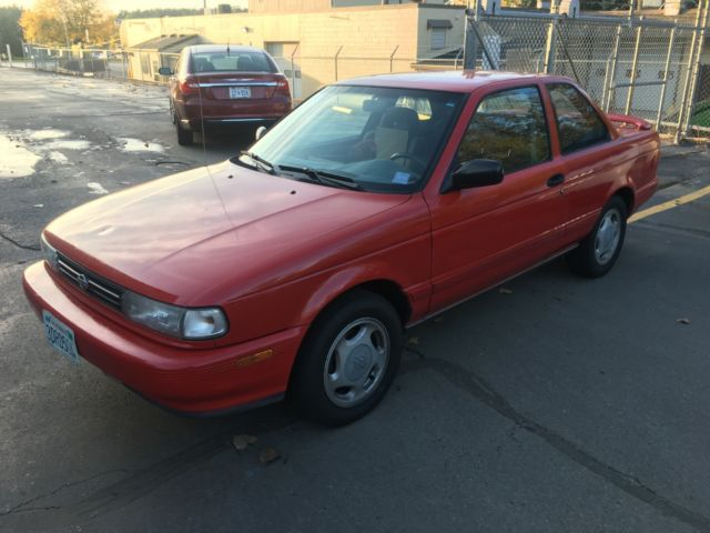 1992 Nissan Sentra Se-r Sr20de 5 Speed A  C For Sale