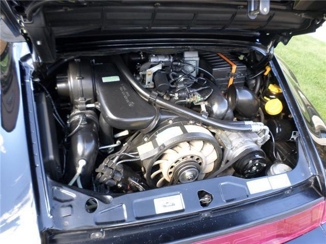 1992 porsche 911 america roadster 67 866 miles black flat 6 cylinder engine 3 for sale. Black Bedroom Furniture Sets. Home Design Ideas