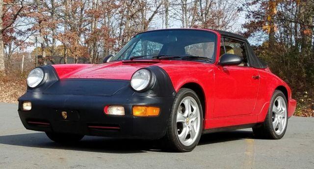 1992 porsche 911 carrera 2 cabriolet for sale porsche 911 1992 for sale in milford. Black Bedroom Furniture Sets. Home Design Ideas