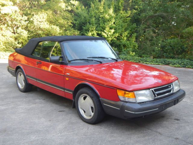 1992 saab 900 turbo convertible 213k runs great for sale. Black Bedroom Furniture Sets. Home Design Ideas
