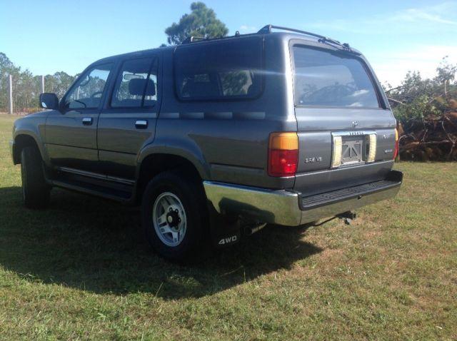 1992 toyota 4runner sr5 4x4 5 speed manual v6 one owner truck for sale toyota 4runner 4x4 5. Black Bedroom Furniture Sets. Home Design Ideas