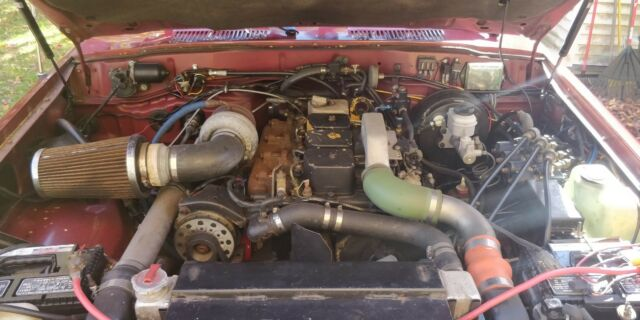 1992 Toyota Land Cruiser FJ80 Cummins Diesel Conversion for