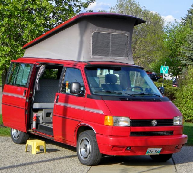 1992 volkswagen eurovan westfalia vw rare full camper van original owner for sale. Black Bedroom Furniture Sets. Home Design Ideas