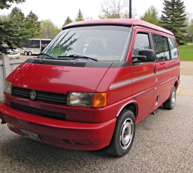 Volkswagen Rialta Reviews: 1992 Volkswagen EuroVan Westfalia VW