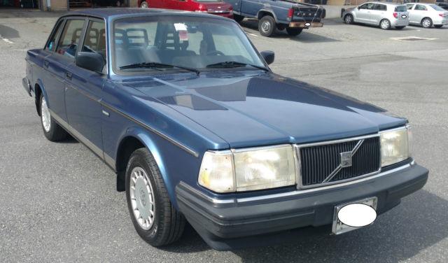 1992 Volvo 240 GL Sedan 114K Classic Volvo for sale - Volvo 240 1992 for sale in Rockville ...