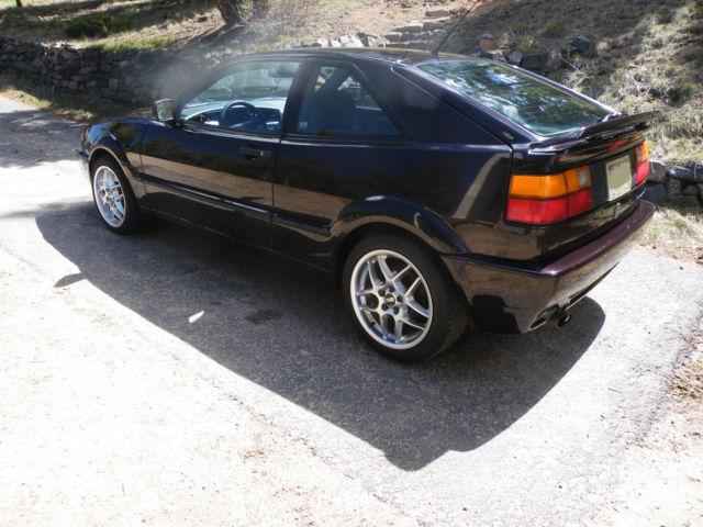 1992 Vw Corrado Slc Vr6 Dark Burgundy Volkswagen Extra