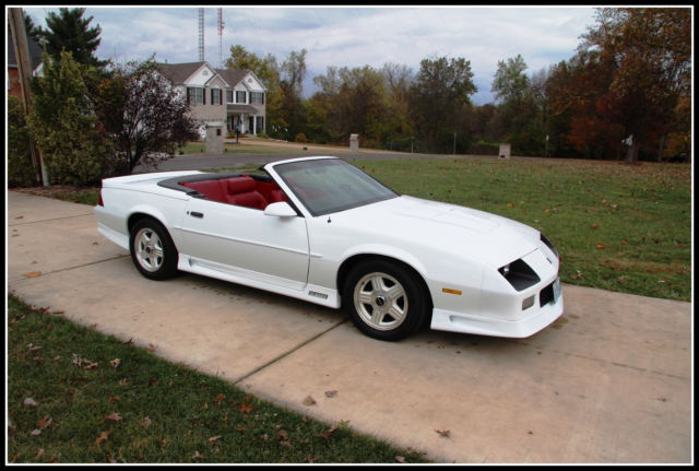 1992 Z28 Camaro Convertible Restored 1 Of 1254 Made For Sale Chevrolet Camaro Z28 1992 For