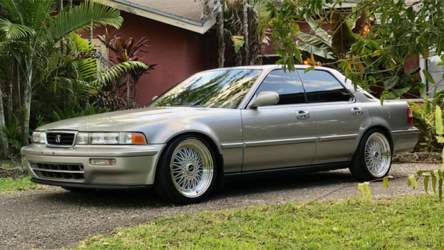 1993 Acura Vigor Gs Super Rare Low Miles Leather Cold A