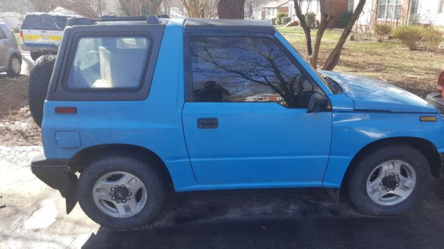 Blue X Manual Geo Tracker K Miles