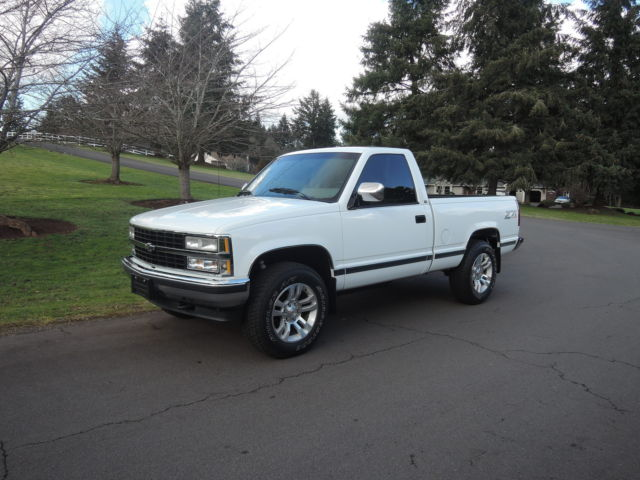 1993 CHEVROLET 1500 4X4 SWB Z-71 '106K MILES MUST SEE' for ...