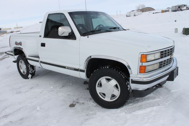 1993 chevrolet silverado sportside stepside low miles excellent condition for sale. Black Bedroom Furniture Sets. Home Design Ideas