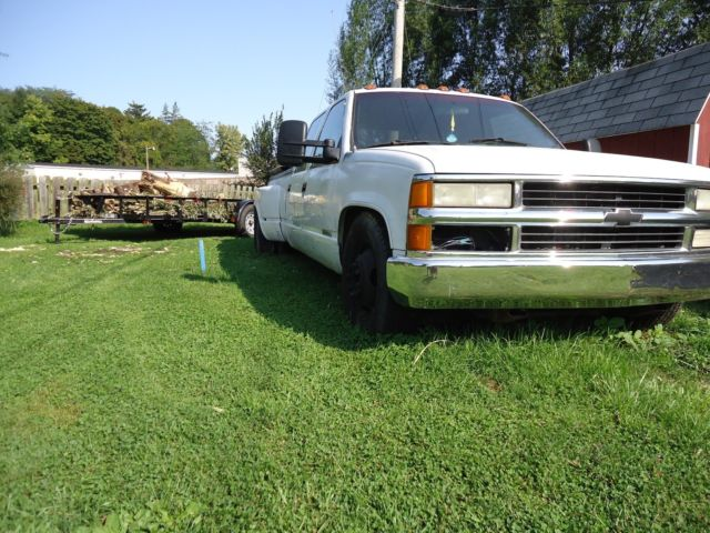 1993 Chevy C3500 CCLB Dually 454 Automatic Lowered for sale