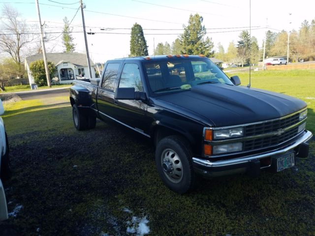 1993 chevy silverado 3500 2wd cummins 12 valve eaton fuller 10 speed overdrive for sale. Black Bedroom Furniture Sets. Home Design Ideas