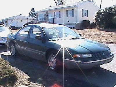 1993 Chrysler Concorde For Parts Or Repair Great Engine