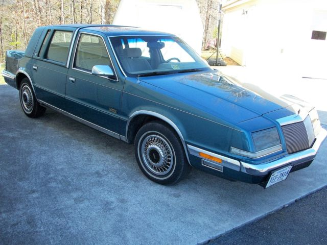 1993 Chrysler Imperial 1 Owner 91k Always Garaged From