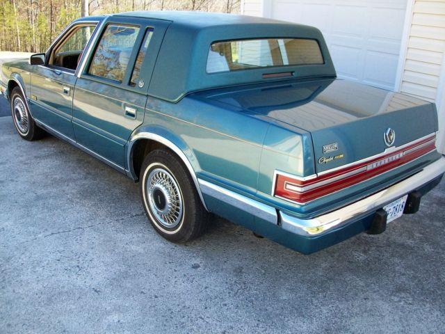 1993 Chrysler Imperial 1 Owner 91k Always Garaged From