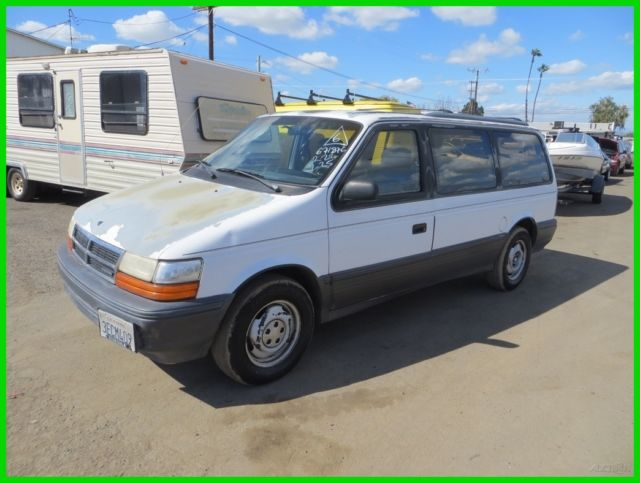 Service Manual I Have A 1993 Dodge Minivan How Do I