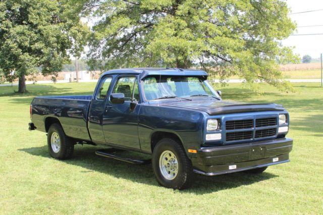 1993 dodge pickup truck ram 2500 inline 6 cummins 5 9 inner cooled turbo diesel for sale dodge. Black Bedroom Furniture Sets. Home Design Ideas