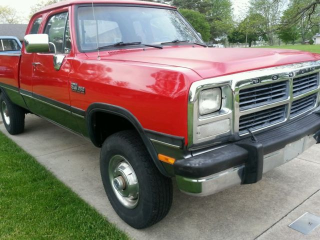 1993 dodge ram 250 5 9 cummins diesel 4x4 for sale dodge ram 2500 1993 for sale in van wert. Black Bedroom Furniture Sets. Home Design Ideas