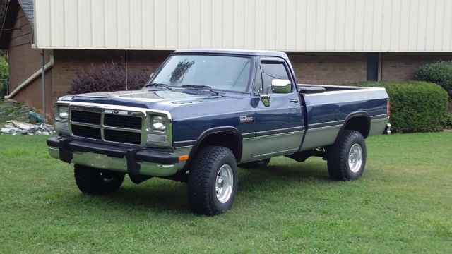 1993 Dodge Ram 250 Cummins Diesel For Sale