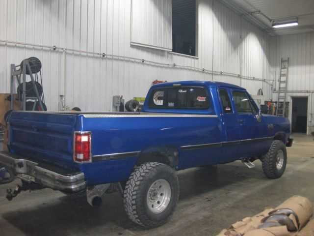 Nv4500 Transmission For Sale >> 1993 dodge w250 2500 cummins diesel nv4500 4X4 no reserve ...