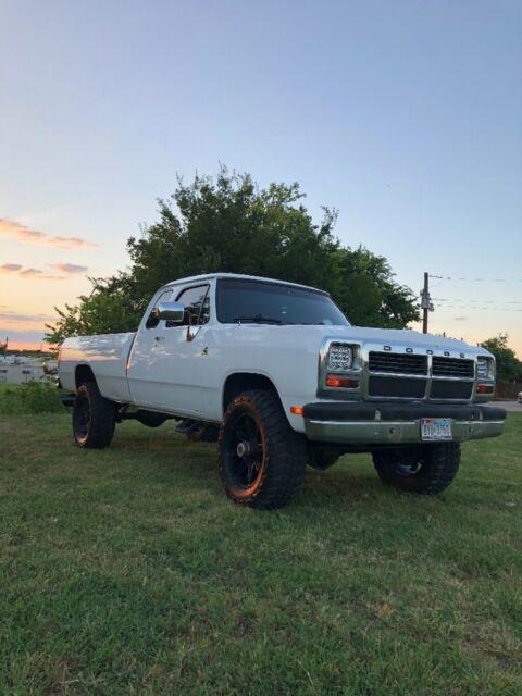Dodge Extended Warranty >> 1993 Dodge W250 Cummins 4x4 for sale - Dodge Other Pickups ...