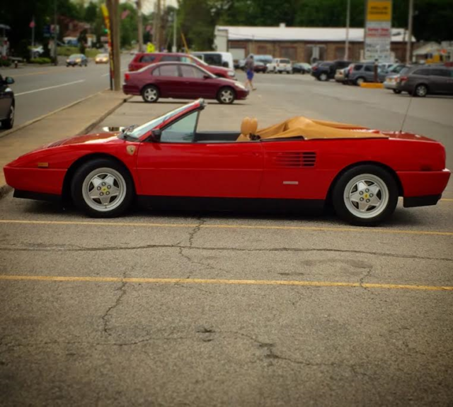 1993 ferrari mondial t valeo rare 1 of 18 for sale ferrari mondial valeo. Black Bedroom Furniture Sets. Home Design Ideas