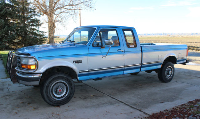 1993 ford f 250 xlt 4x4 7 3 diesel turbo idi 5 speed extended cab pickup truck for sale ford f. Black Bedroom Furniture Sets. Home Design Ideas