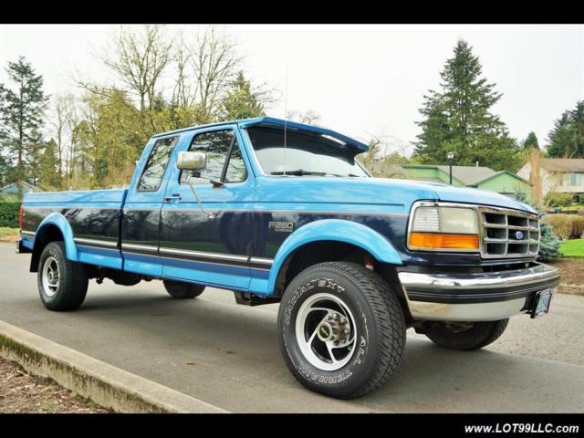 1993 ford f 250 xlt 4x4 long bed 1 owner 7 3l automatic 2 door truck for sale ford f 250 xlt. Black Bedroom Furniture Sets. Home Design Ideas