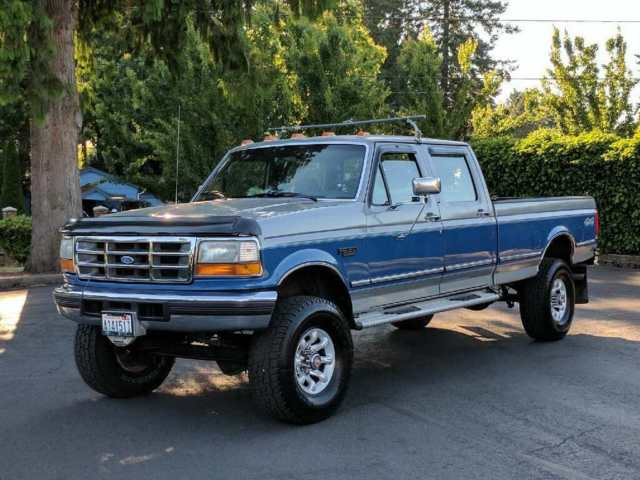 1993 ford f 350 4x4 crew cab 4dr auto 7 3l turbo diesel 167k orig miles 100 pics for sale ford. Black Bedroom Furniture Sets. Home Design Ideas