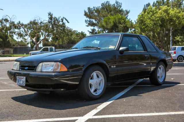 1993 ford mustang lx 5 0 coupe notchback only 71 000 original miles unmolested for sale ford. Black Bedroom Furniture Sets. Home Design Ideas
