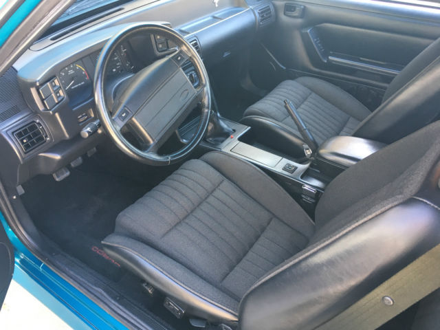 1993 ford mustang svt cobra 191 of 4993 teal black for sale ford mustang cobra 1993 for. Black Bedroom Furniture Sets. Home Design Ideas