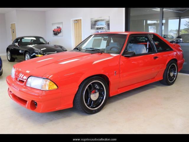 1993 Ford Mustang Svt Cobra R 5 Speed Manual 2 Door