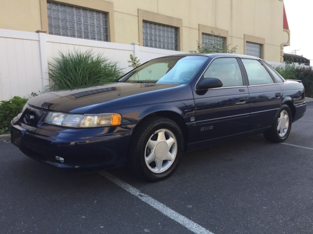 1993 ford taurus sho mint 74k rare stock sleeper what a find for sale ford taurus sho. Black Bedroom Furniture Sets. Home Design Ideas