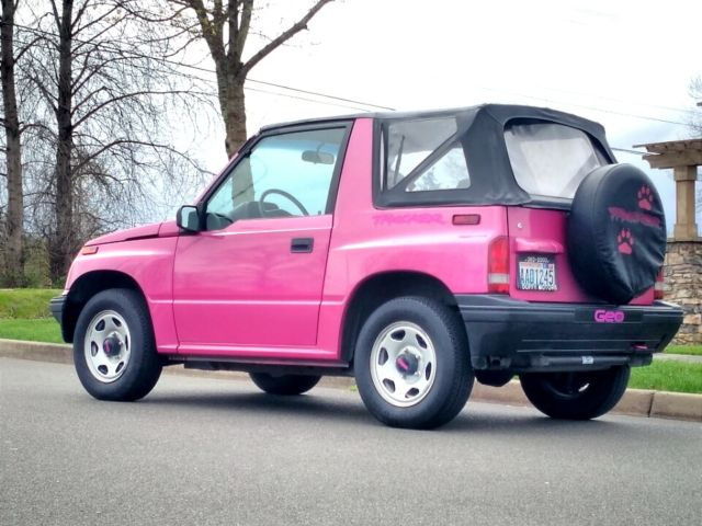 1993 geo tracker with 65 747 original miles 100 rust free showroom condition for sale geo. Black Bedroom Furniture Sets. Home Design Ideas