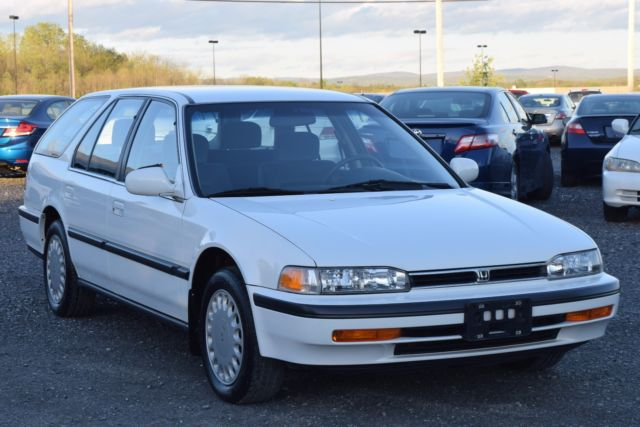 1993 honda accord lx wagon 45k miles for sale honda for Honda accord old model
