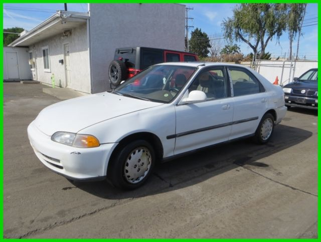 1993 honda civic ex used 1 6l i4 16v automatic sedan no reserve for sale honda civic 1993 for. Black Bedroom Furniture Sets. Home Design Ideas