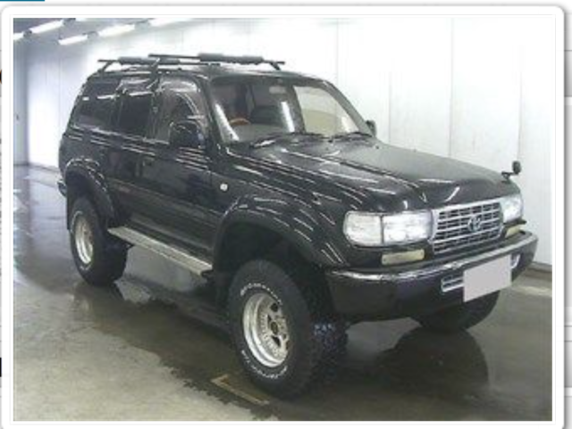 1993 HZJ81 Land Cruiser RHD Diesel with CA registration