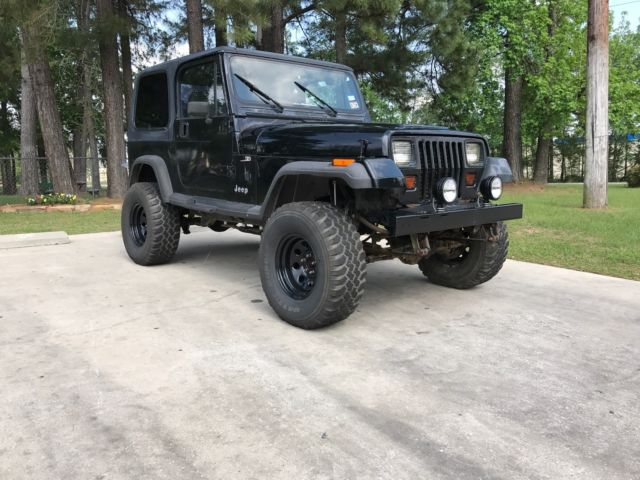1993 jeep wrangler 4 h o 5 speed hardtop soa 6 lift more for White Jeep Wrangler Unlimited Lifted prevnext