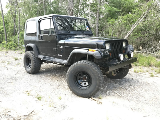 1993 jeep wrangler yj hardtop 4 0 h o 5 speed lifted for sale jeep. Cars Review. Best American Auto & Cars Review