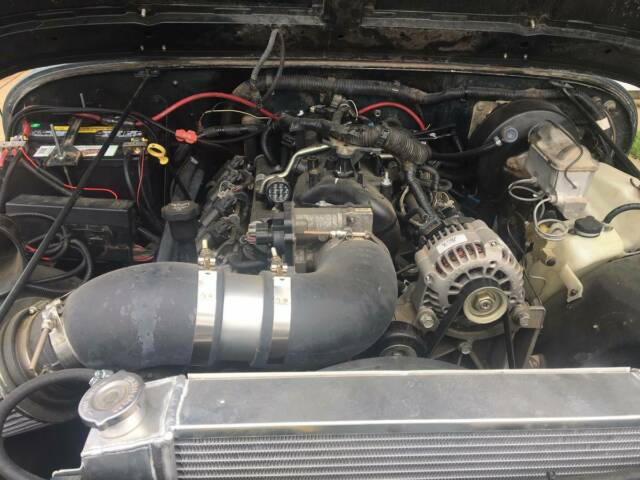 1993 Jeep Wrangler YJ with 5 3 LS Engine Swap for sale
