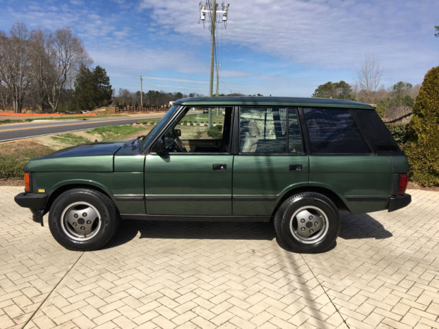 1993 land rover range rover county sport utility 4 door 3 9l for sale land rover range rover