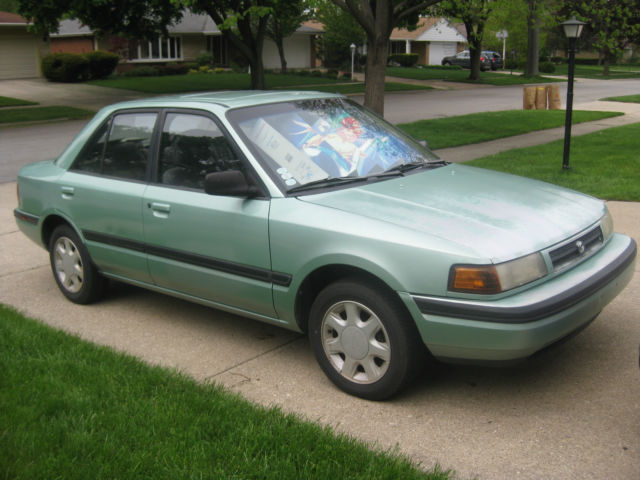 1993 lx 1 8 dohc w 5spd manual transmission no rust from phoenix az for sale mazda protege 1993 for sale in mount prospect illinois united states davids classic cars