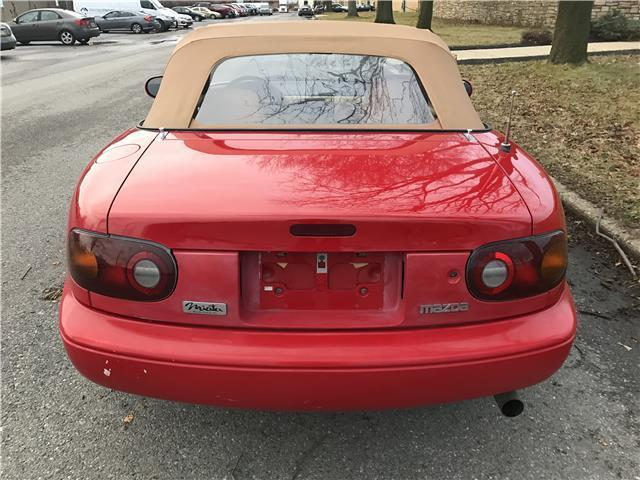 1993 mazda mx 5 miata convertible 5 speed manual for sale mazda mx 5. Black Bedroom Furniture Sets. Home Design Ideas