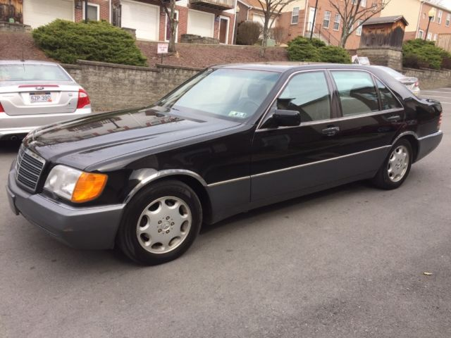 1993 merced benz 500 sel no reserve for sale mercedes for Mercedes benz morgantown wv