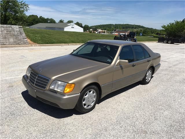 1993 mercedes benz 300 series 300sd 185472 miles gold for 1993 mercedes benz for sale