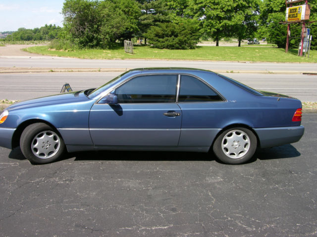 1993 mercedes benz 600sec base coupe 2 door 6 0l for sale for Mercedes benz 2 door coupe for sale