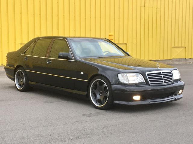 1993 mercedes s500 w140 big boy s class with wald body kit for Mercedes benz lorinser for sale
