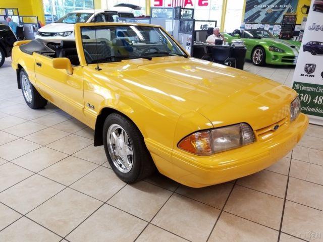 1993 Mustang LX Convertible 5 0L V8 Automatic 13k Original