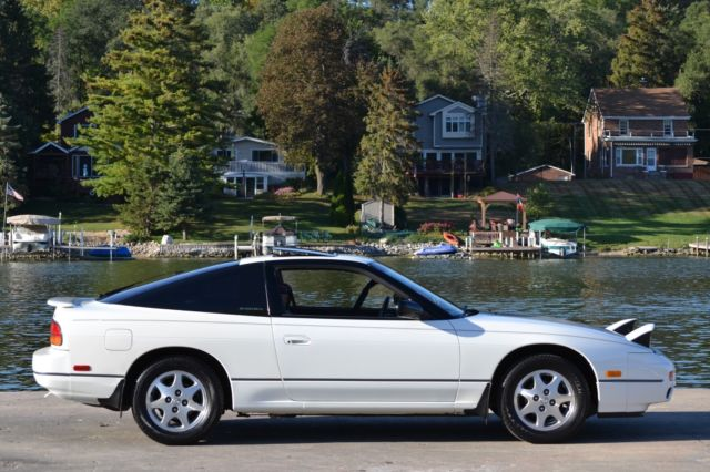 1993 Nissan 240sx Se Hatchback 75k Miles Pearl White 100